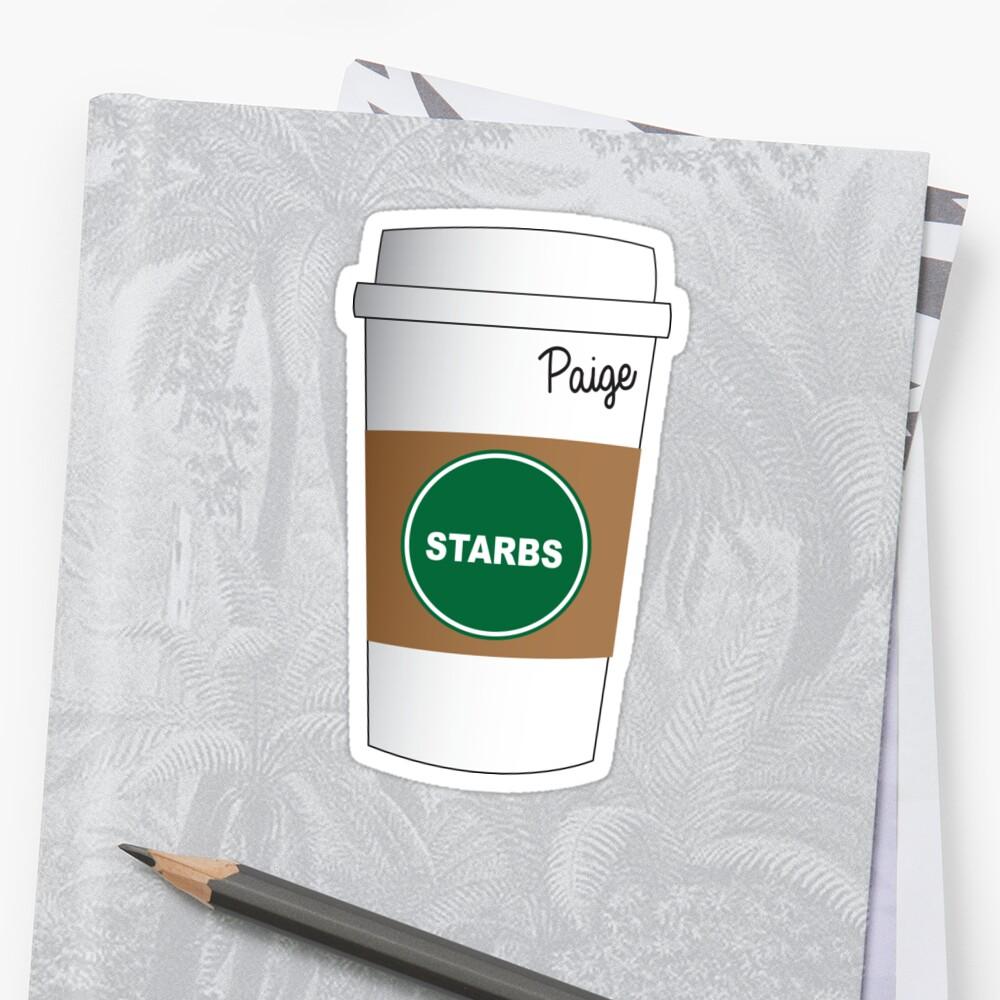 Paige Starbucks Cup by Katie Beukema