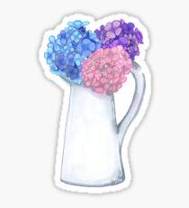 Hydrangea Sticker