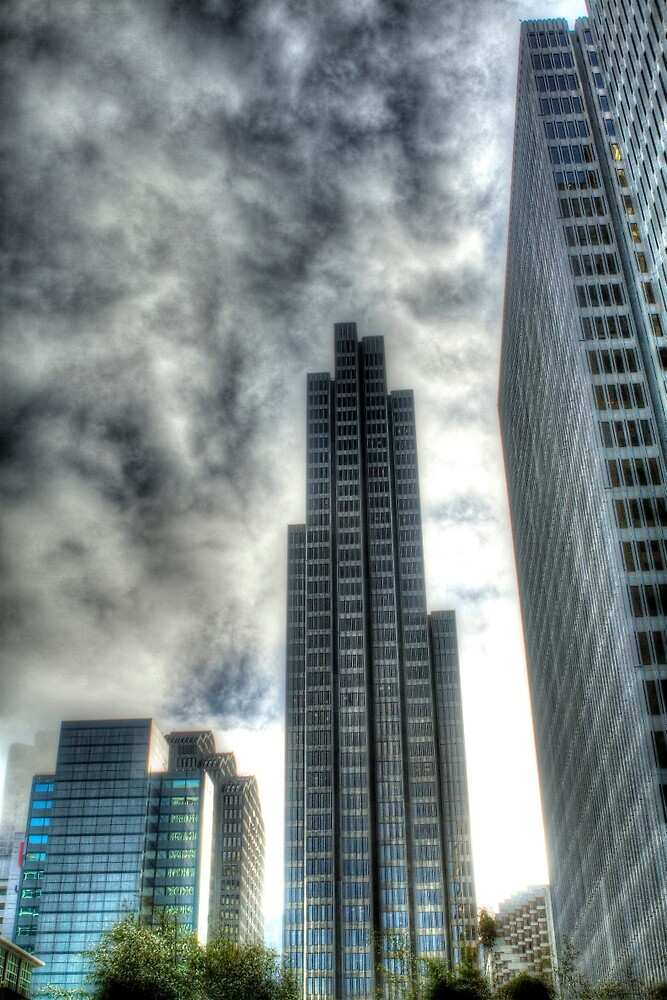 Four Embarcadero Center by ScHPhotography Digital Paintings and Design