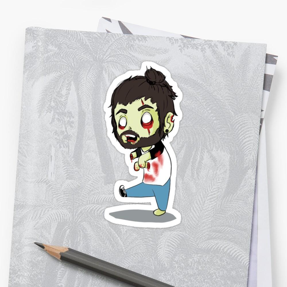 Bearded zombie by Capnsnow