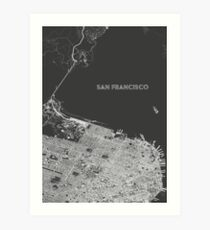 San Francisco alternate angle Art Print