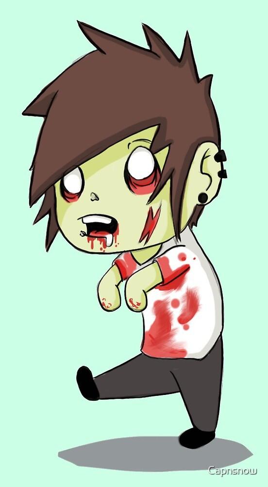 scene zombie by Capnsnow