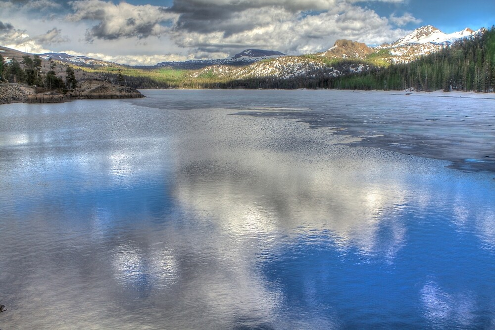 Reflections from Caples Lake by ScHPhotography Digital Paintings and Design