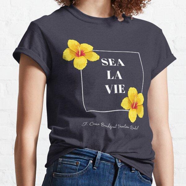 Sea La Vie Hibiscus Classic T-Shirt