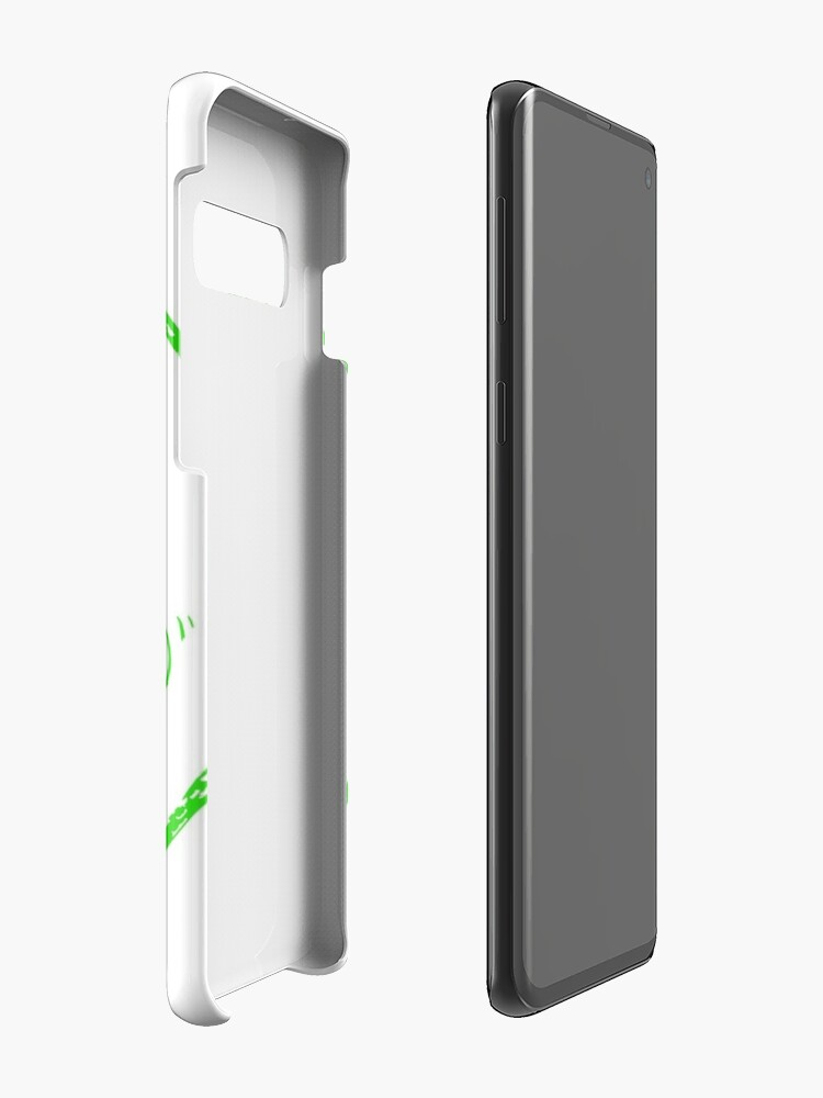 Alternate view of Roth's Hamlet - Green Case & Skin for Samsung Galaxy