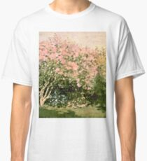 Claude Monet - Lilac In The Sun 1873  Classic T-Shirt