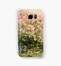 Claude Monet - Lilac In The Sun 1873  Samsung Galaxy Case/Skin