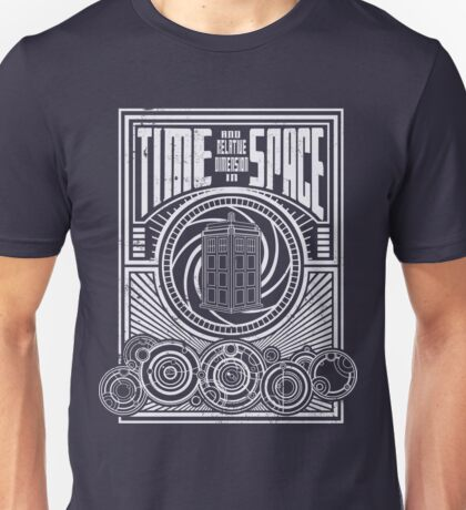 Time and Space Unisex T-Shirt