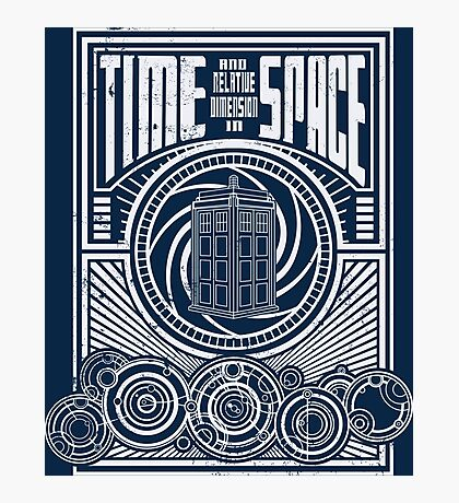 Time and Space Photographic Print