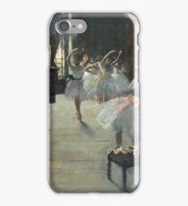 Edgar Degas - The Dance Class iPhone Case/Skin