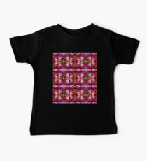 Red Anemone Pattern Kids Clothes