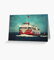 Missed the Boat Greeting Card