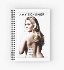 AMY SCHUMER Spiral Notebook