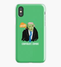 Corporate Zombie iPhone Case/Skin