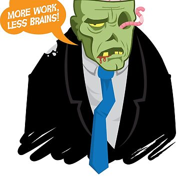 Corporate Zombie by randyriggs