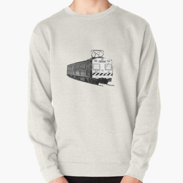 Melbourne Hitachi train Pullover Sweatshirt