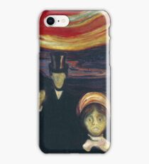 Edvard Munch - Anxiety iPhone Case/Skin