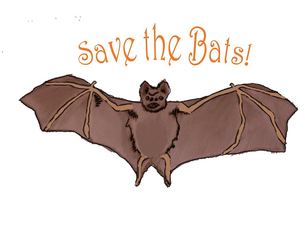Save the Bats! by 1drousCre8tions
