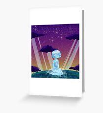 On Earth Greeting Card