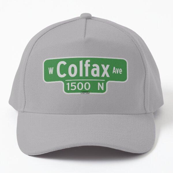West Colfax Ave Street Sign - Denver Colorado Baseball Cap
