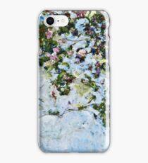 Claude Monet - Roses 1825  iPhone Case/Skin