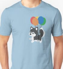Camiseta unisex Globo Husky