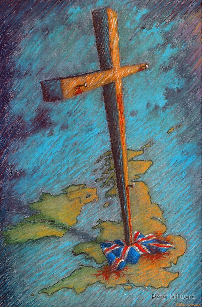 The Cross and the Union Jack by Peter Millward