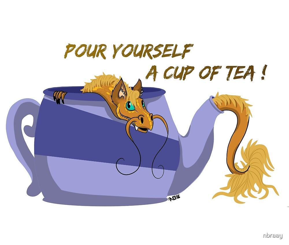 Tea Dragon #1 - Tii-pot by nbraay