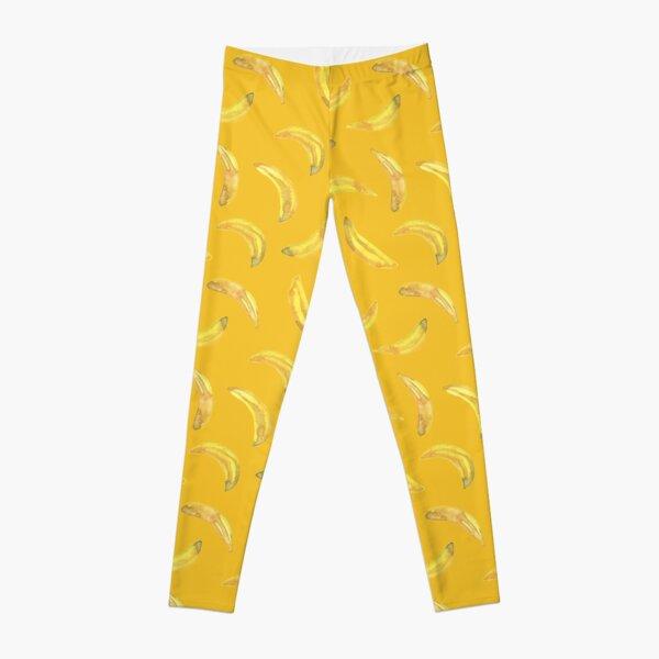 Bananas in Yellow Leggings