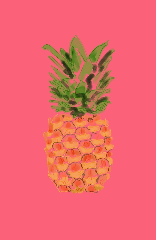 Pink Pineapple by grimpeuse