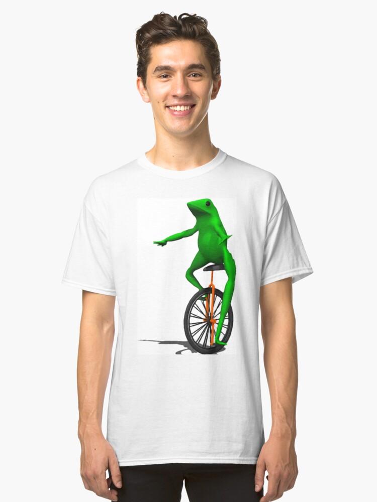 dat boi frog Classic T-Shirt Front