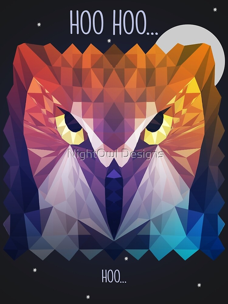 Low Poly Owl by Trista's Designs