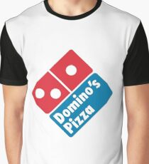 Dominos Pizza Logo Graphic T-Shirt
