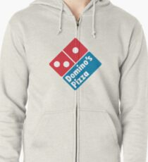 Dominos Pizza Logo Zipped Hoodie