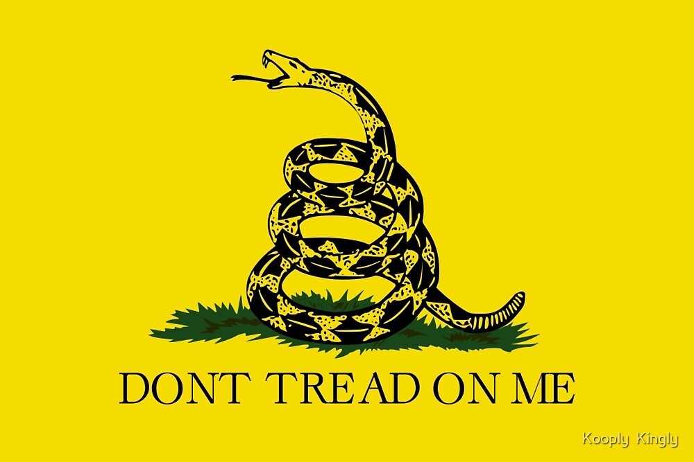 Don't tread on me by Porkly Piggly