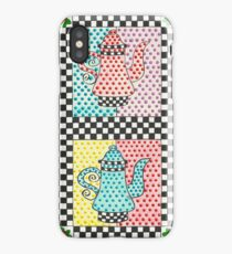 Four Teapots iPhone Case/Skin