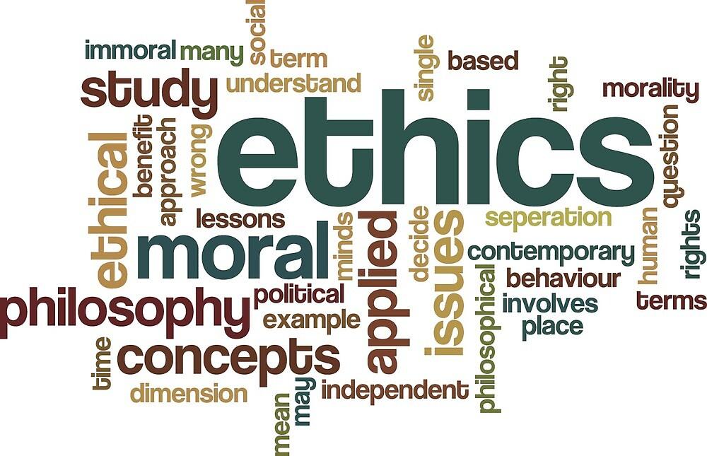 Ethics Print by BGrygotis