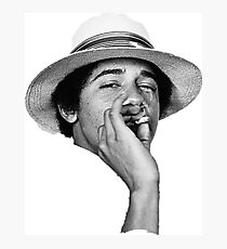 obama kush Photographic Print