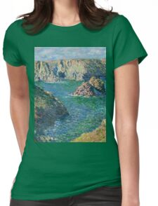 Claude Monet - Port Donnant Belle Ile Womens Fitted T-Shirt