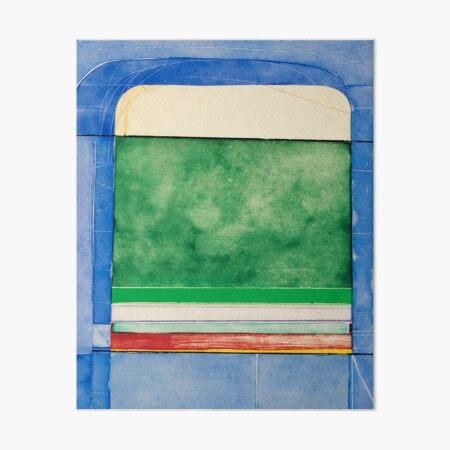 Diebenkorn | Blue Surround |  Art Board Print