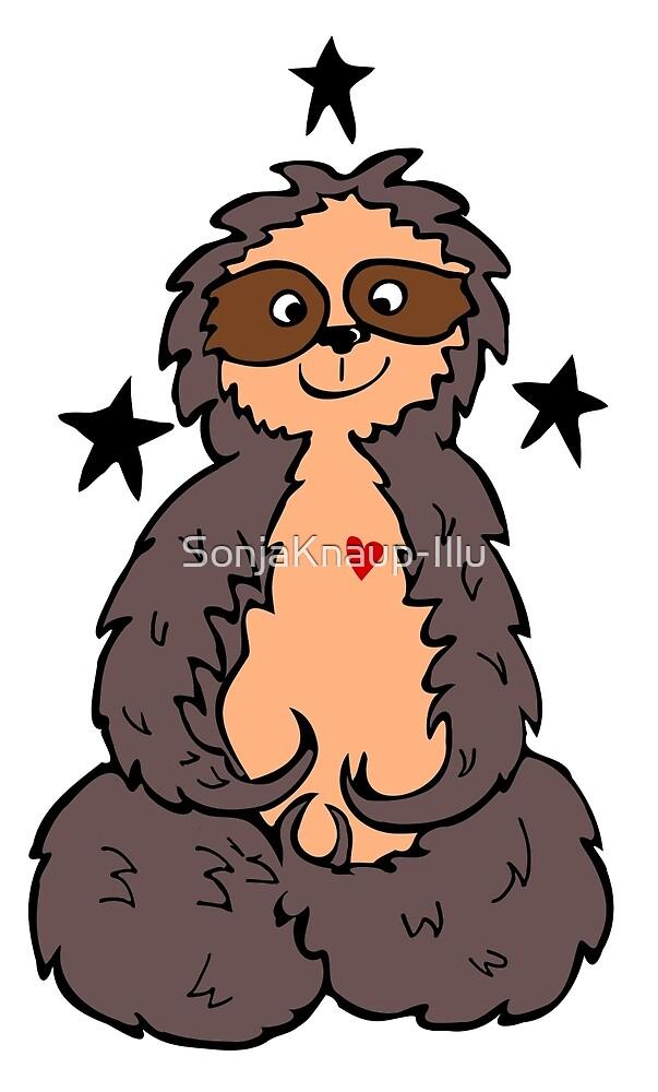 Sloth Luzi by SonjaKnaup-Illu