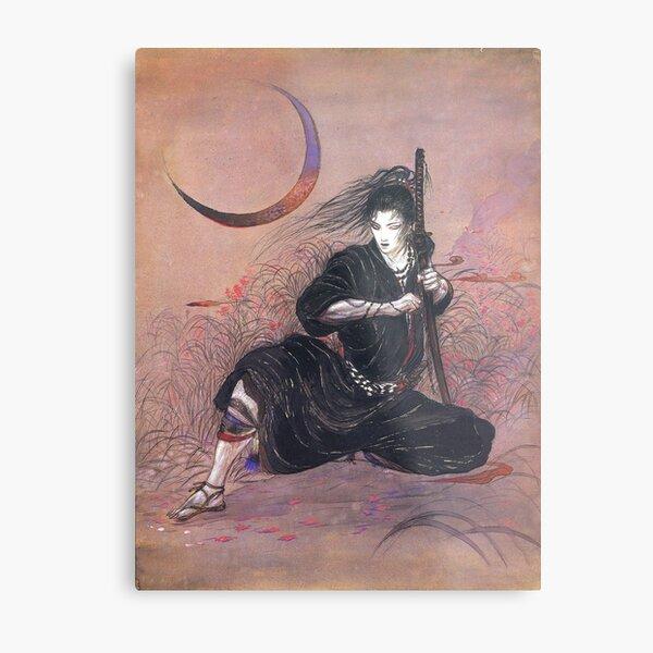 Yoshitaka Amano: Demons Roar Metal Print