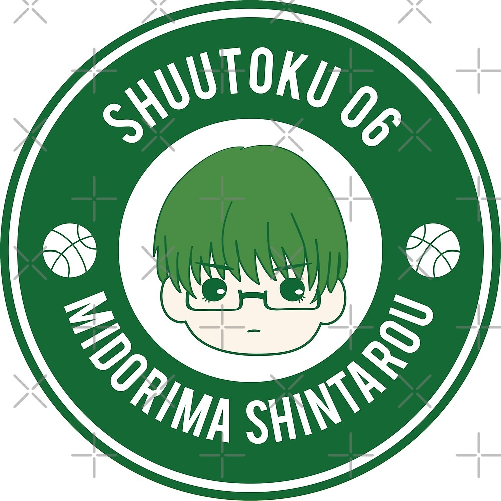 KNB Badge - Shuutoku 6 Midorima Shintarou by wtshop