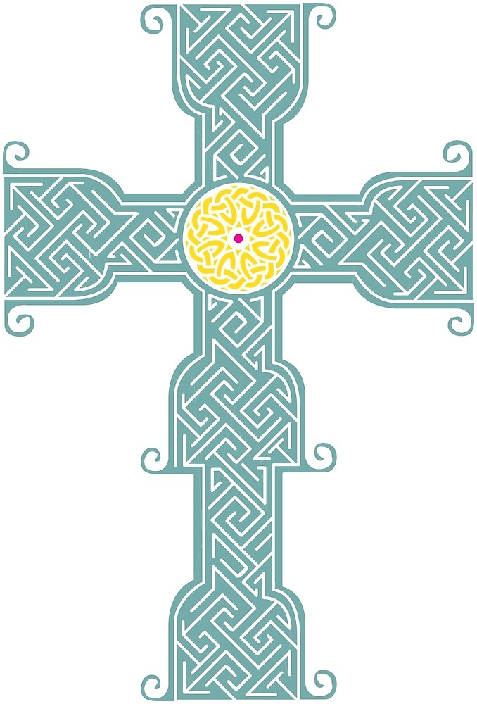 Tullylease Cross by CatholicSaints