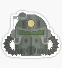 T-51 Power Armor Helmet Sticker