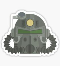 T-51 Power Armor Helmet Sticker