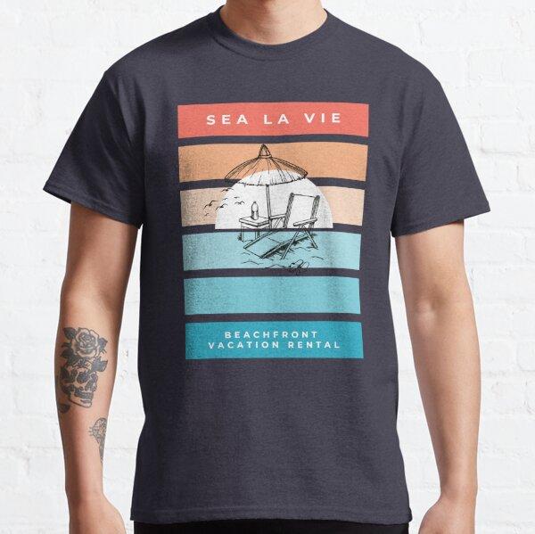 Sea La Vie by the Beach Classic T-Shirt