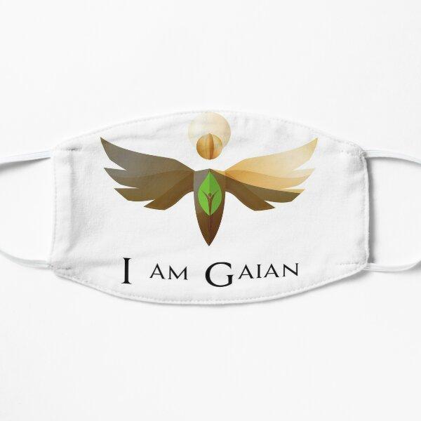 I am Gaian mask Flat Mask