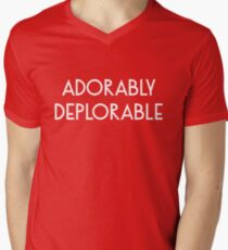 Adorably Deplorable Men's V-Neck T-Shirt