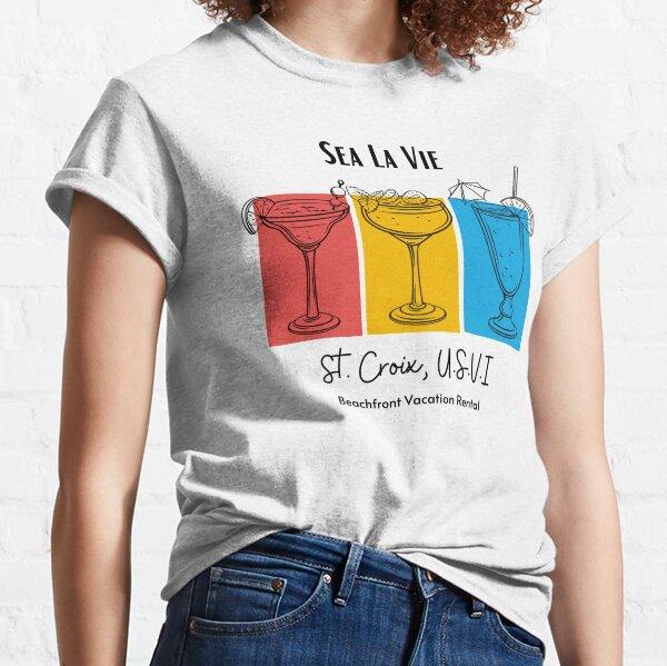 Sea La Vie Tropical Drinks Classic T-Shirt
